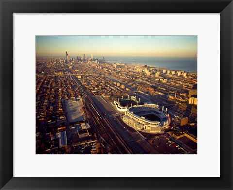 Framed Old Comiskey Park, Illinois Print