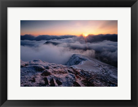 Framed Brecon Beacons Wales Print