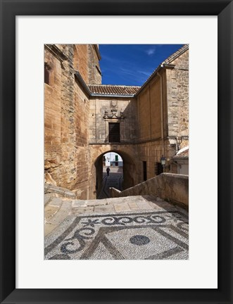 Framed Church Mayor of Santa Maria de la Encarnacion, Spain Print