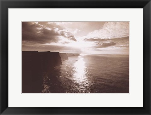 Framed Cliff Of Moher Ireland Print