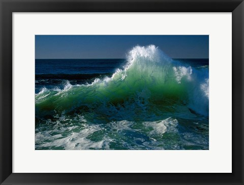 Framed Pacific Coast, Oregon Print