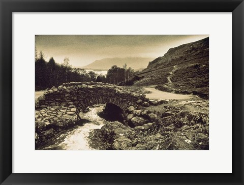Framed Ashness Bridge, Cumbria, England Print