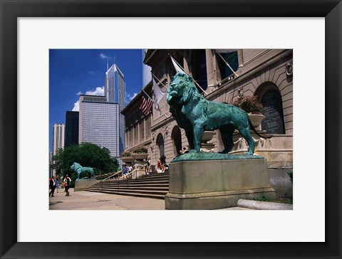 Framed Art Institute of Chicago Print