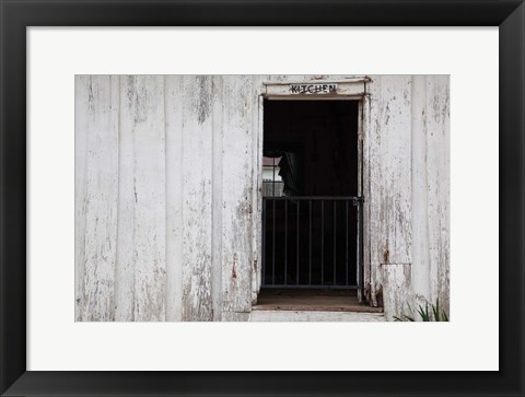 Framed Helen Keller Birthplace And Home, Colbert County, Alabama Print