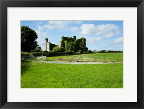 Framed Moydrum Castle, Athlone, Republic of Ireland Print