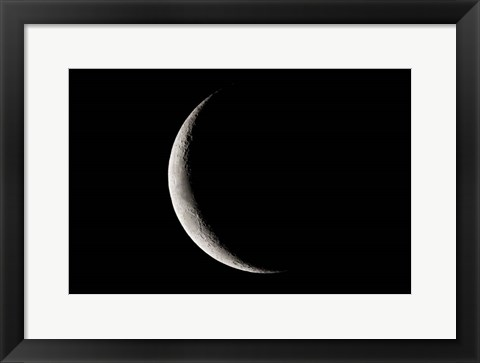 Framed Crescent Moon, Namibia Print
