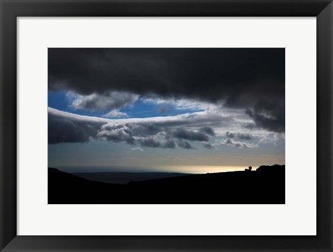 Framed Dungarvan Coastline, Comeragh Mountains, County Waterford, Ireland Print