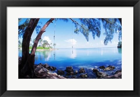 Rope Swing Over Water Florida Keys Art By Panoramic