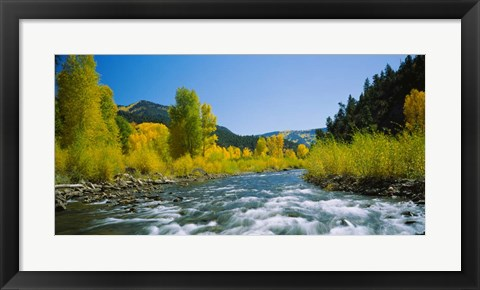 Framed San Miguel River, Colorado Print