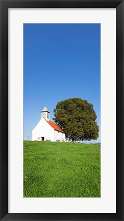 Framed Heilig-Kreuz-Kapelle Chapel, Germany Print