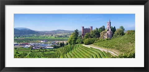 Framed Ortenberg Castle, Offenburg, Black Forest, Baden-Wurttemberg, Germany Print