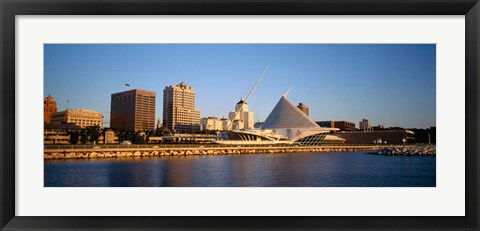 Framed Milwaukee Art Museum, Milwaukee, WI Print