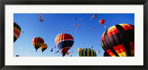 Framed International Balloon Festival, Albuquerque, New Mexico Print