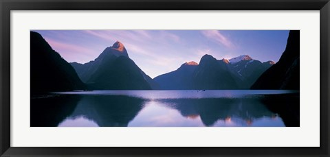 Framed Milford Sound, New Zealand Print
