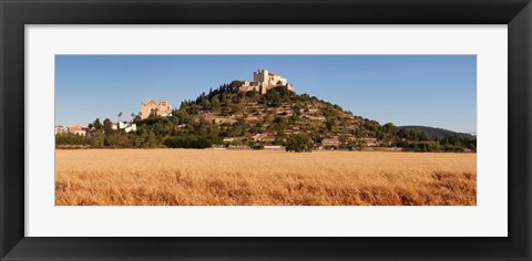 Framed Parish Church of Transfiguracio del Senyor and Santuari de Sant Salvador, Spain Print