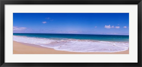 Framed Papohaku Beach,, Hawaii Print