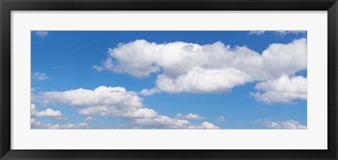 Framed Cumulus Clouds, Baden-Wurttemberg, Germany Print
