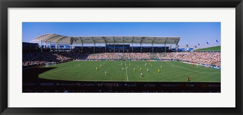 Framed Germany vs. Sweden, FIFA Women's World Cup, City of Los Angeles, California Print