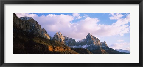 Framed Watchman, Zion National Park, Utah Print