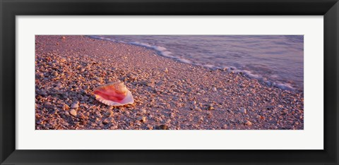 Framed Lovers Key State Park, Fort Myers Beach, Florida Print