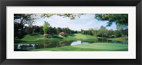 Framed Congressional Country Club, Bethesda, Maryland Print