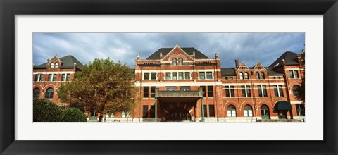 Framed Union Station, Montgomery, Alabama Print