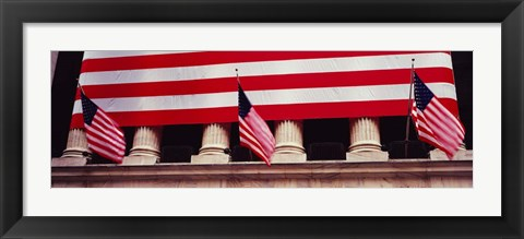 Framed New York Stock Exchange, Manhattan, New York City Print