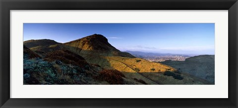 Framed Arthurs Seat, Edinburgh, Scotland Print