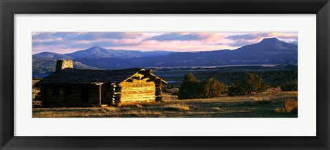 Framed Ghost Ranch, Abiquiu, Rio Arriba County, New Mexico Print
