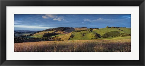 Framed Landscape, Scottish Borders, Scotland Print