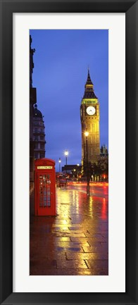 Framed England, London Print