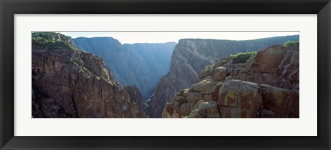 Framed Black Canyon, Gunnison National Forest, Colorado Print