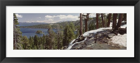 Framed Emerald Bay, Lake Tahoe, California Print