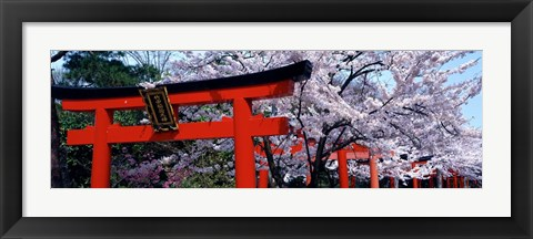 Framed Japan Takenaka Inari Shrine Print