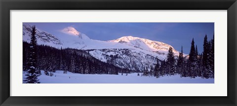Framed Trophy Mountain, British Columbia, Canada Print