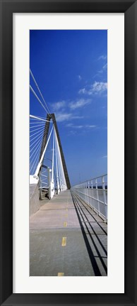 Framed Arthur Ravenel Jr. Bridge, Cooper River, South Carolina Print