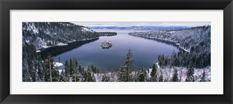 Framed Emerald Bay, Lake Tahoe, CA Print