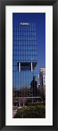 Framed NBSC Building, Columbia, South Carolina Print