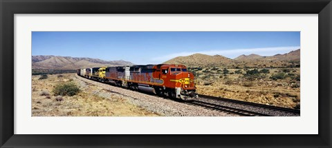 Framed Santa Fe Railroad, Arizona Print