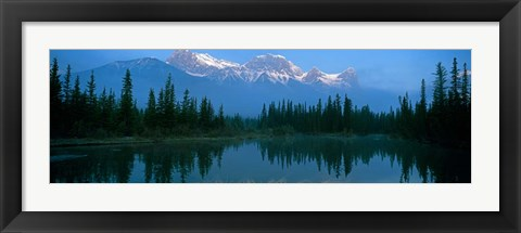 Framed Mount Lawrence Grassi, Alberta, Canada Print