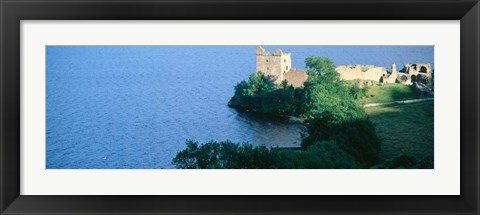Framed Castle Urquhart, Loch Ness, Scotland, United Kingdom Print