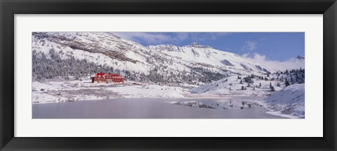 Framed Jasper National Park, Canada Print