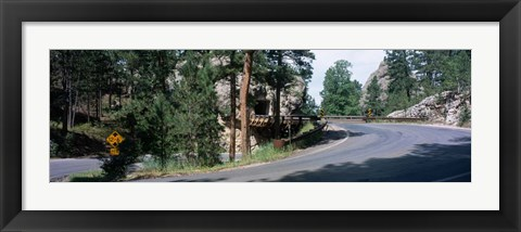 Framed Winding Road SD Print