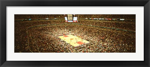 Framed Chicago Bulls, Chicago, Illinois Print