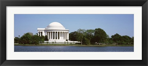 Framed Jefferson Memorial, Washington DC Print