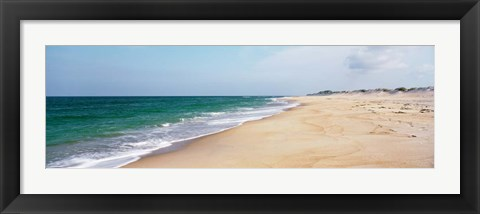 Framed Cape Hatteras Waves, North Carolina Print