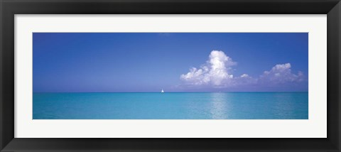 Framed Turks And Caicos, Caribbean Islands Print