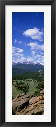 Framed Rocky Mt National Park, CO Print