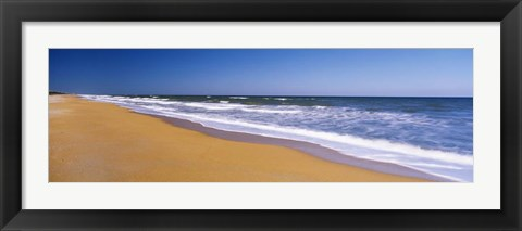 Framed Route A1A, Flagler Beach, Florida Print