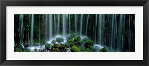 Framed Shiraito Falls, Japan Print